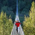 Pistoia, suspension bridge