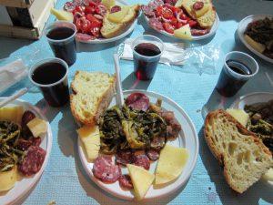 Some local Biccaresi food
