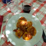 Lunch at Il Corno Rosso restaurant, San Gennaro