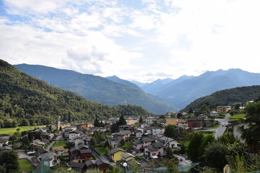 DAZIO - view from the road to Caspano