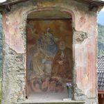 Dazio - first shrine on the climb