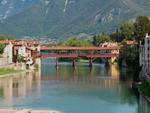 Bassano del Grappa, bridge of the Alpine