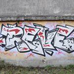 Graffiti, Naviglio Martesana, Milan by Virginia Merlini