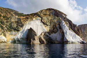 Ponza cliffs