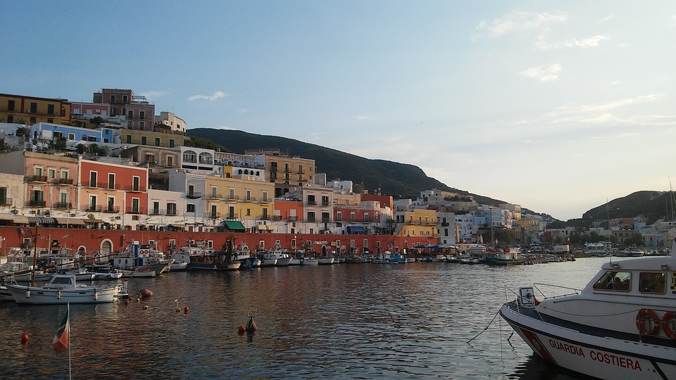 Ponza harbour