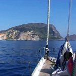 Sailing in Ponza