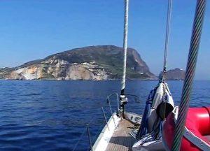 Sailing in Ponza