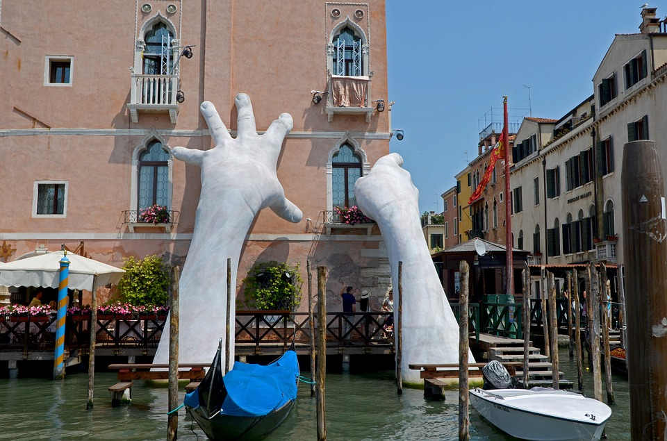 Venice, Biennale Art Exhibit