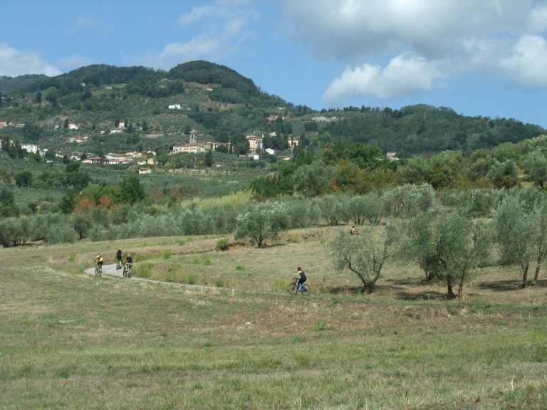 Cycling to San Gennaro