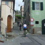 San Gennaro, Climbing to the Pieve
