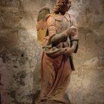 San Gennaro Pieve, statue by Leonardo Da Vinci