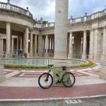 By bike at Terme Tettuccio SPA