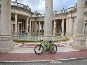 By bike at Terme Tettuccio SPA