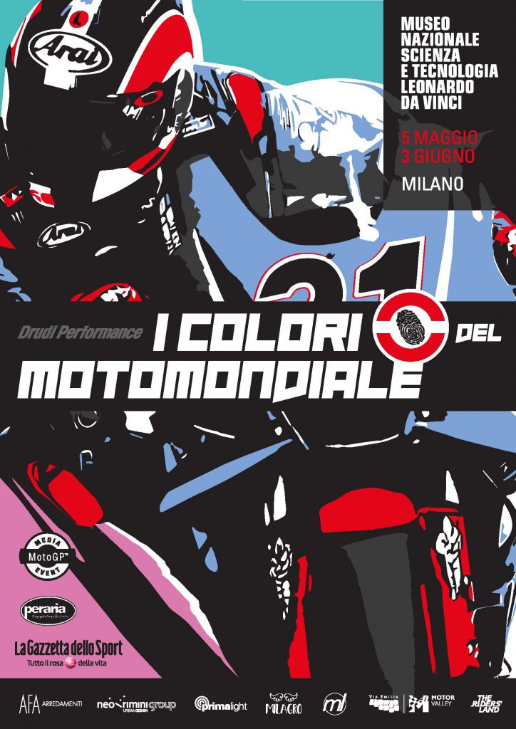 The colors of MotoGP