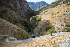 Vandelli Road, hairpin turns, by Michele Suraci