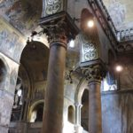 Venice - Basilica di San Marco - interior view of the many gold mosaics