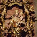 Basilica di San Michele - an ornate Baroque Virgin and Child