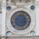 Venice - Piazza San Marco - the fabulous astronomical clock of the Torre dell'Orologio