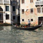 Venice, a gondola