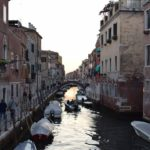 Venice - one of the more than 400 bridges that connect the neighborhoods of the beautiful city.