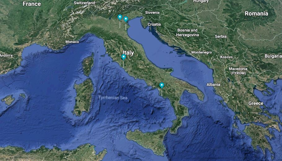 Mibact slow tour map