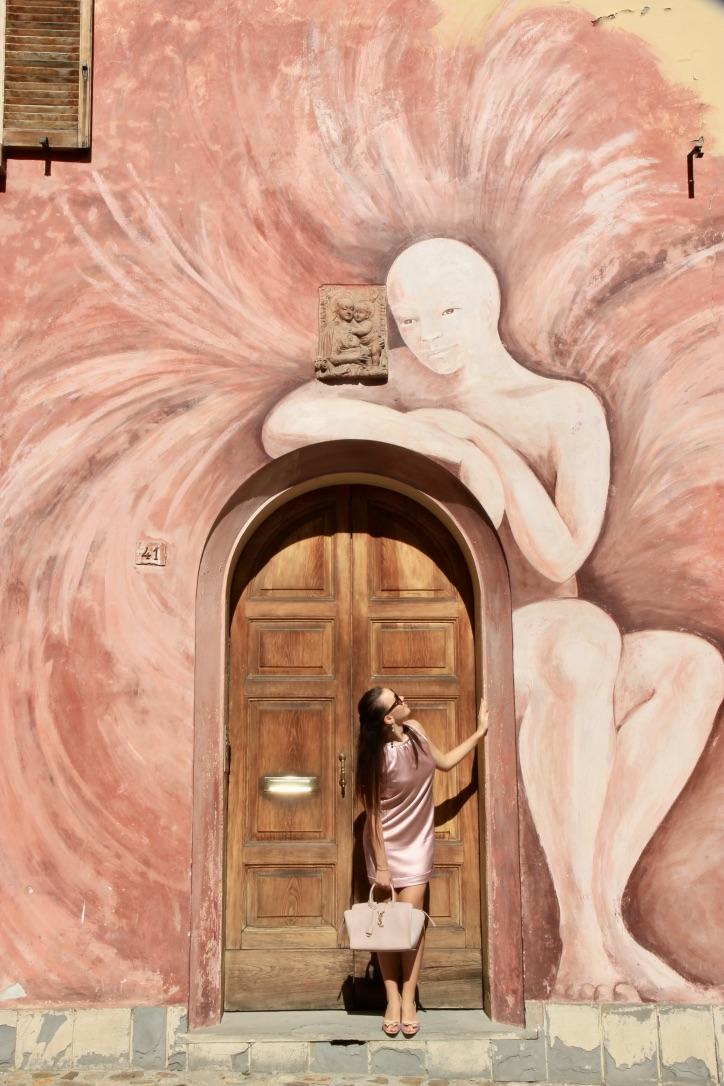 The Angel, Dozza street art