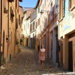 Walking in Dozza