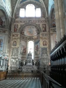 Certosa di Pavia, inside
