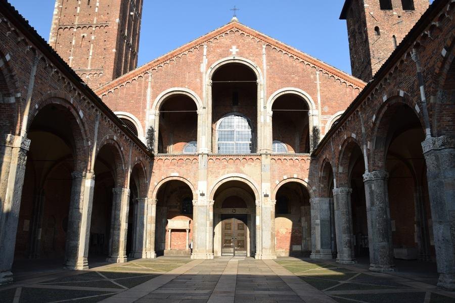 Basilica di Sant'Ambrogio (4th century)