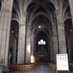 Certosa di Pavia - Basilica di Santa Maria delle Grazie - first view inside the church - a 'stolen' photo