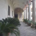 Certosa di Pavia - Smaller cloister to which the public does not have access