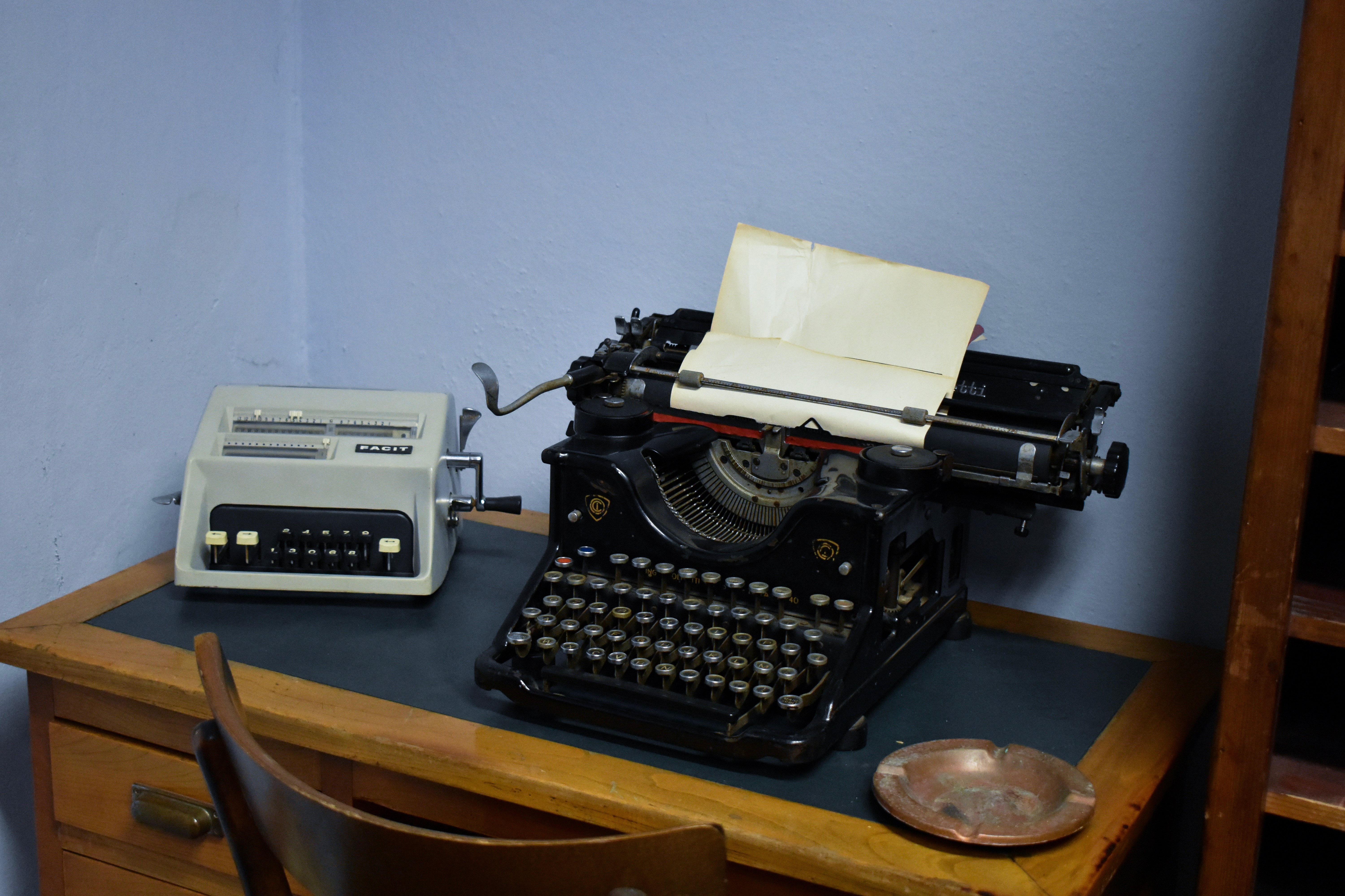 S.M.I. Campo Tizzoro, the first Olivetti typewriter
