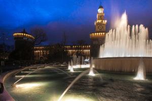 Milan Sforzesco Castle
