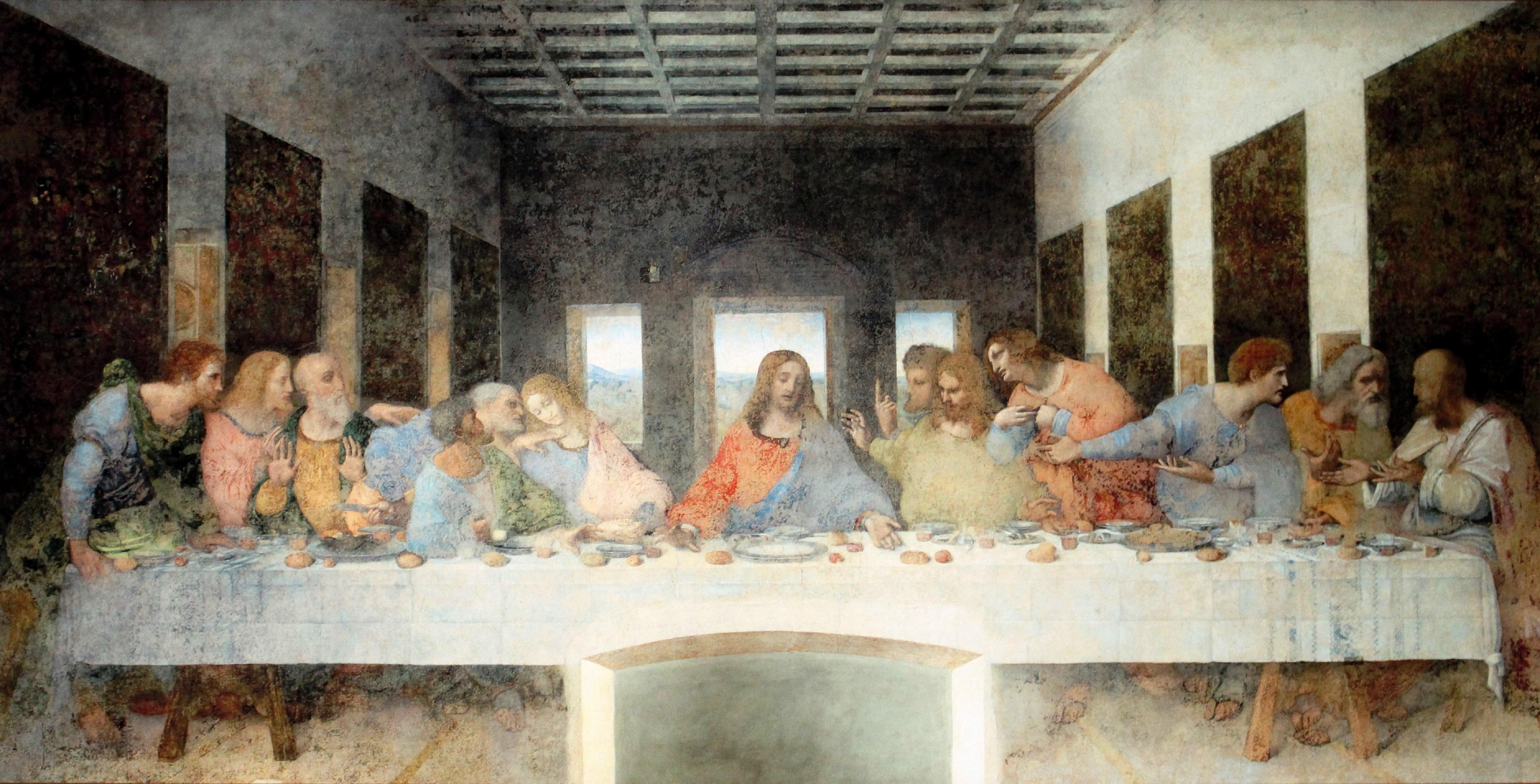 Last Supper, Leonardo da Vinci