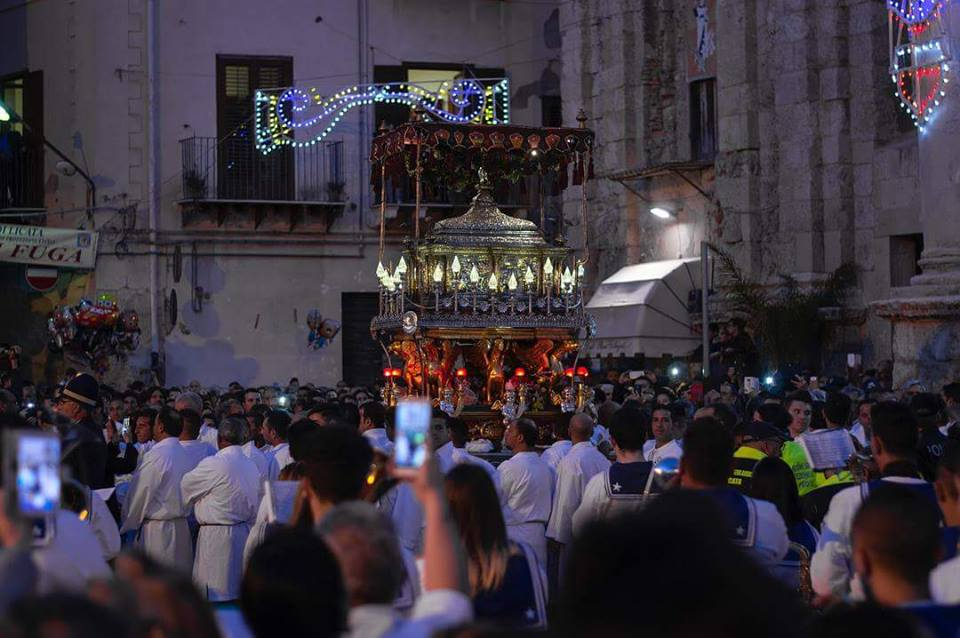 Processione Santo patrono, Licata di https://www.facebook.com/Licata.Mare.Sicilia/