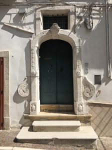 Portal of local house