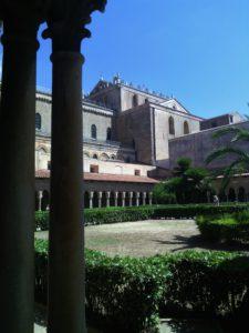 Monreale, the church outside