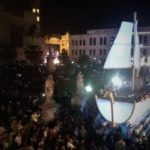 St Rosalia Celebrations, people and the boat
