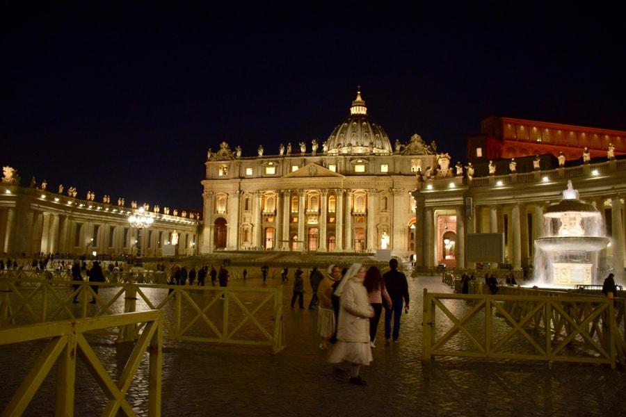 Piazza San Pietro, by Nicoletta Speltra