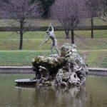 Palazzo Pitti - Boboli Gardens - Neptune Fountain - Photo taken in February