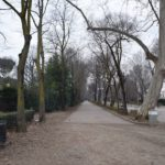 Parco Cascine - the entrance walking north from the Ponte Alla Carraia