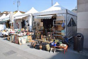 Mercato San Ambrogio - the outdoor flea market