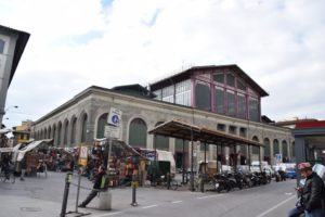 Mercato Centrale - entrance to the large 2-story market