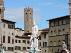 Piazza della Signoria - the Neptue Fountain.