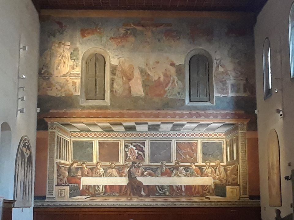 Refectory of the Chiesa di Sant Apollonia - the Last Supper painted in 1447 by Andrea del Castagno (1423-1457)