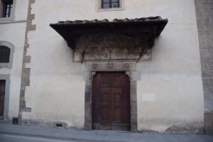 Convento delle Calza - the old entrance to the convent