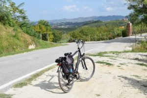 Cycling in the Langhe