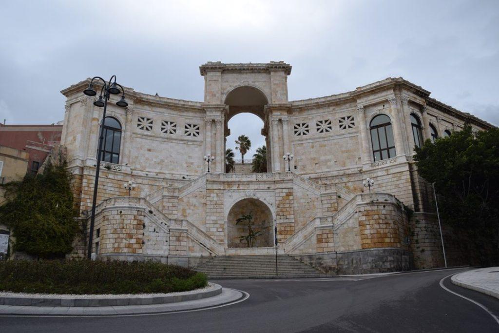 Cagliari – The Bastione Saint Remy