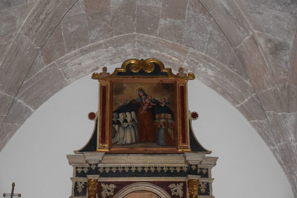 Samugheo – Chiesa di San Sebastiano Martire – this is a Madonna della Misericordia
