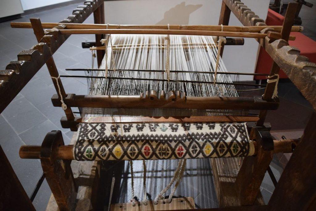 14. Samugheo, MURATS the Museo Unico Regionale di Arte Tessile Samugheo